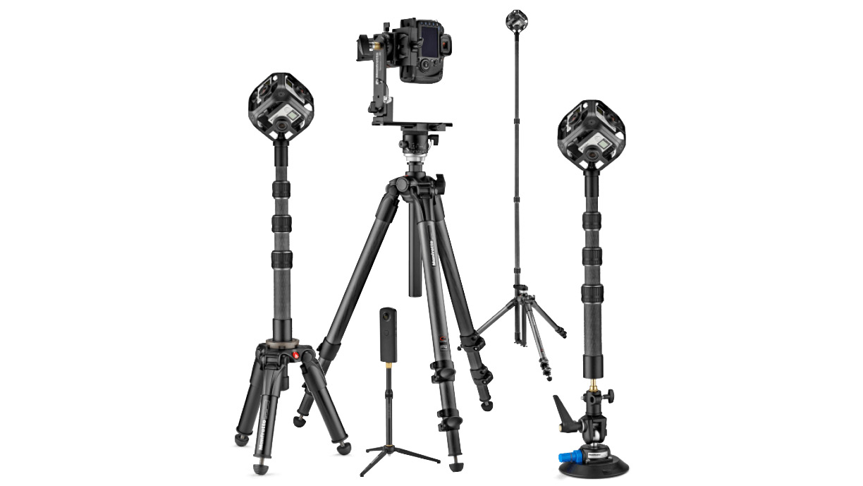 Manfrotto 360° VR range launched